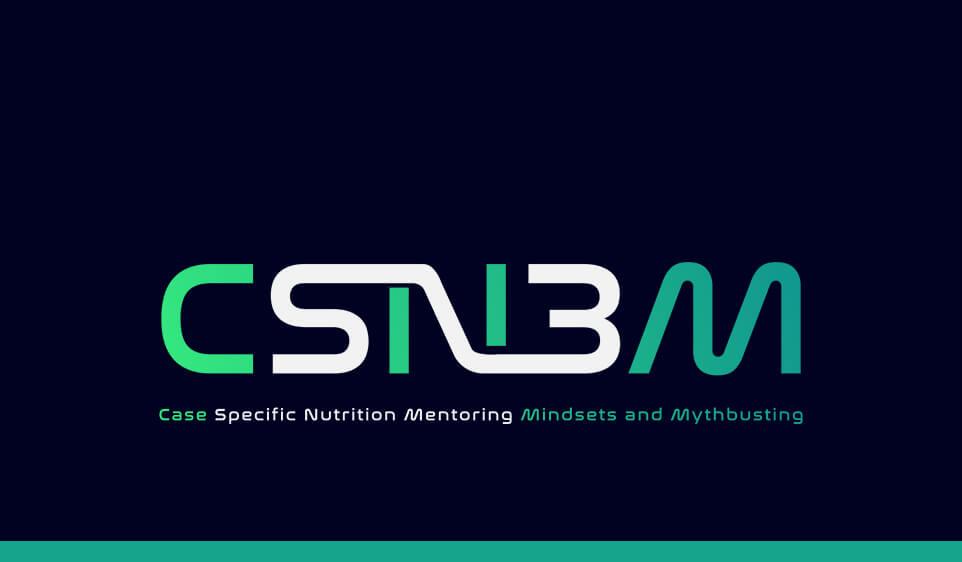 Case Specific Nutrition Mentoring, Mindsets & Mythbusting